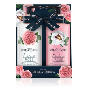 Boudoire Rose Hand Wash and Lotion Set