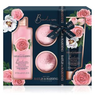 Boudoire Rose 4 Piece Gift Set