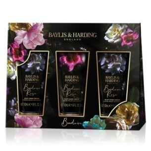 Boudoire Rose Set of 3 Hand Cream