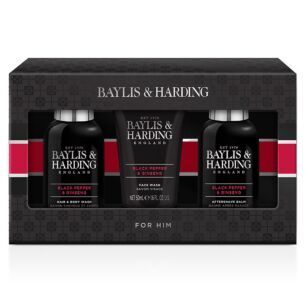 Men's Black Pepper & Ginseng Trio Gift Set