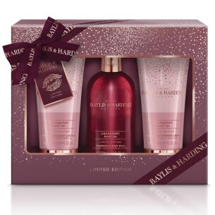 Cranberry Martini 3 Piece Gift Set