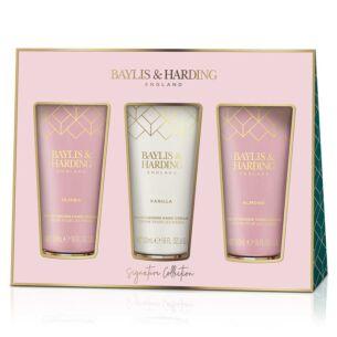 Jojoba, Vanilla & Almond Oil Set of 3 Hand Cream