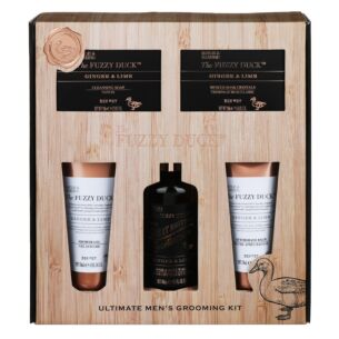 The Fuzzy Duck Men's Ginger & Lime 5 Piece Gift Set