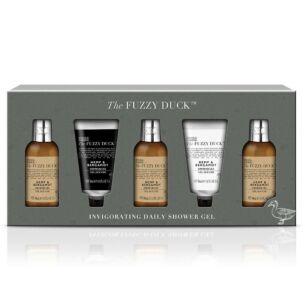 The Fuzzy Duck Men's Hemp & Bergamot Daily Shower Gift Set