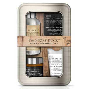 The Fuzzy Duck Men's Hemp & Bergamot Beard Grooming Tin