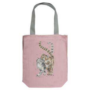'Feline Good' Canvas Tote Bag