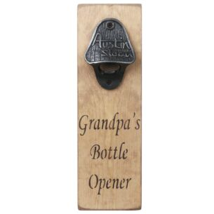 Grandpa's Bottle Opener
