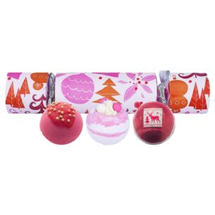 We Wish You a Rosy Christmas Cracker Gift Set