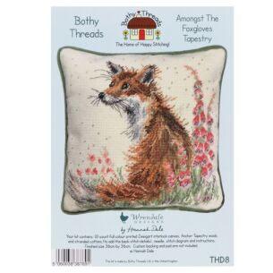 'Amongst The Foxgloves' Bothy Threads Tapestry Kit