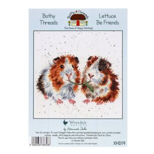 'Lettuce Be Friends' Bothy Threads Cross Stitch Kit