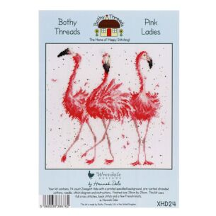 Pink Ladies Cross Stitch Kit