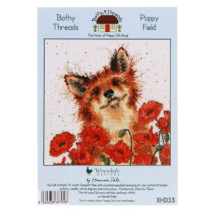 'Poppy Field' Bothy Threads Cross Stitch Kit