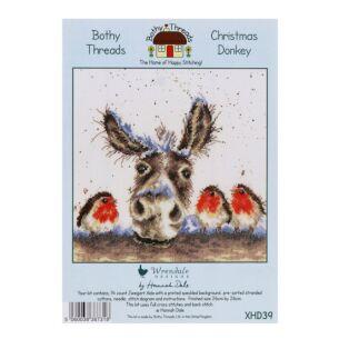 'Christmas Donkey' Bothy Threads Cross Stitch Kit