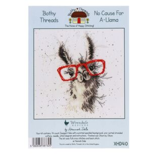No Cause For A Llama Cross Stitch Kit