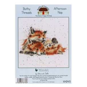 'Afternoon Nap' Bothy Threads Cross Stitch Kit