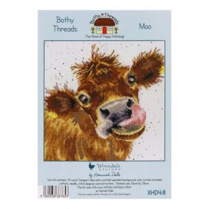 'Moo' Bothy Threads Cross Stitch Kit