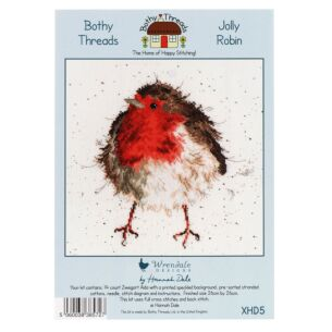 'Jolly Robin' Bothy Threads Cross Stitch Kit