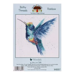 Rainbow Cross Stitch Kit