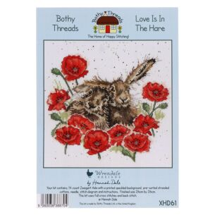 'Love Is In The Hare' Bothy Threads Cross Stitch Kit