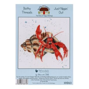 'Just Nippin' Out' Bothy Threads Cross Stitch Kit