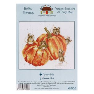 'Pumpkin, Spice And All Things Mice' Bothy Threads Cross Stitch Kit