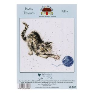 'Kitty' Bothy Threads Cross Stitch Kit