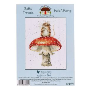 'He's a Fun-gi' Bothy Threads Cross Stitch Kit