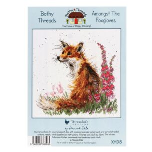 'Amongst The Foxgloves' Bothy Threads Cross Stitch Kit
