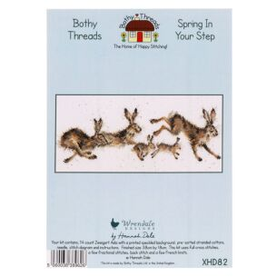 'Spring In Your Step' Bothy Threads Cross Stitch Kit