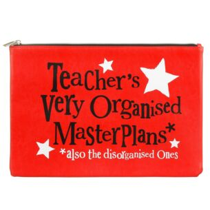 Teachers Very Organised Master Plans A4 Wallet