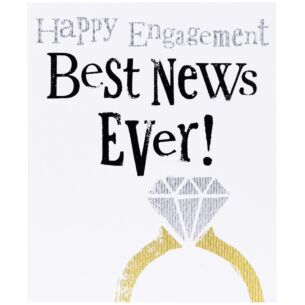 Best News Ever! Engagement Card