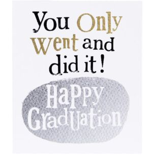The Bright Side Happy Graduation Card