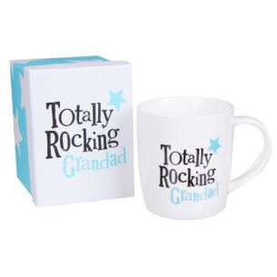 The Bright Side Totally Rocking Grandad Boxed Mug