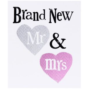 Brand New Mr & Mrs Card