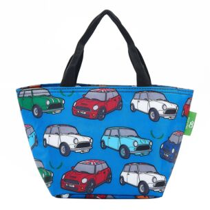Blue Minis Recycled Insulated Lunch Bag