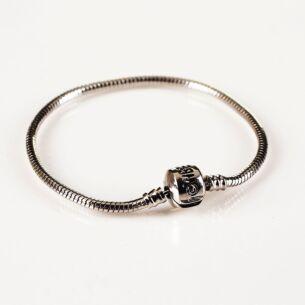 Small Silver Charm Bracelet
