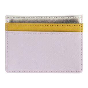 Lilac Card Holder