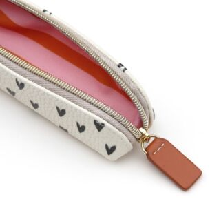 Caroline Gardner Mini Hearts Essential Pencil Case