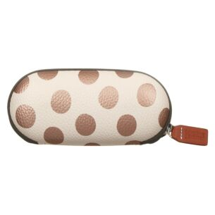 Caroline Gardner Metallic Spot Glasses Case