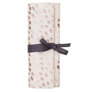 Metallic Dotty Jewellery Roll