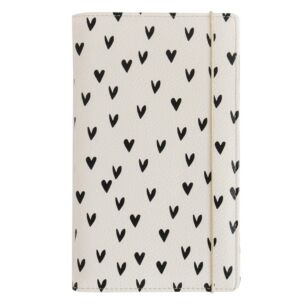 Caroline Gardner Mini Hearts Travel Wallet