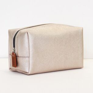 Caroline Gardner Rose Tinted Cube Cosmetic Bag