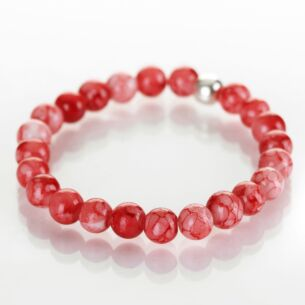 Coral Marbled Bracelet