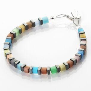 Night-time Cats Eye Cubes Bracelet