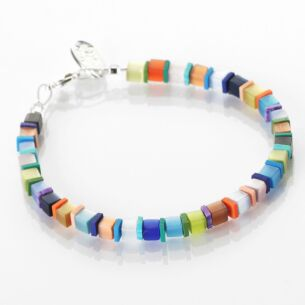 Carrie Elspeth Day-time Cats Eye Cubes Bracelet