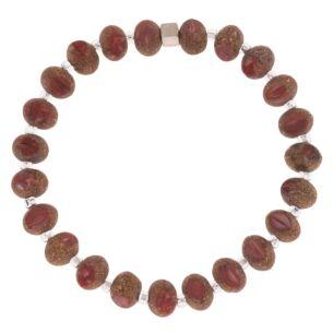 Carrie Elspeth Red Meteor Bracelet
