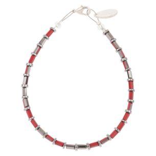Scarlet Laces Bracelet