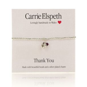 Thank You Sentiment Bracelet