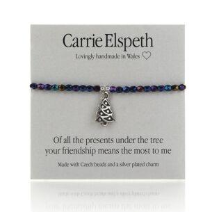 Of All The Presents Sentiment Bracelet