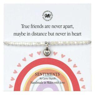 True Friends Sentiment Bracelet